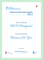 life in petersfield award 2013